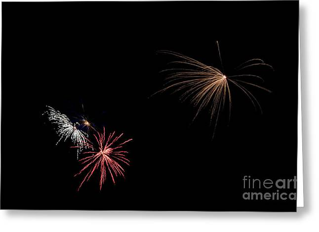 Fireworks 31 Greeting Card by Cassie Marie Photography