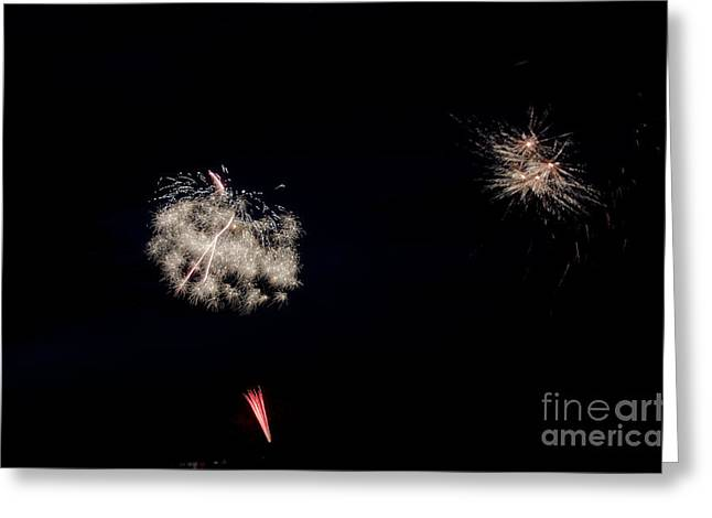Fireworks 32 Greeting Card by Cassie Marie Photography