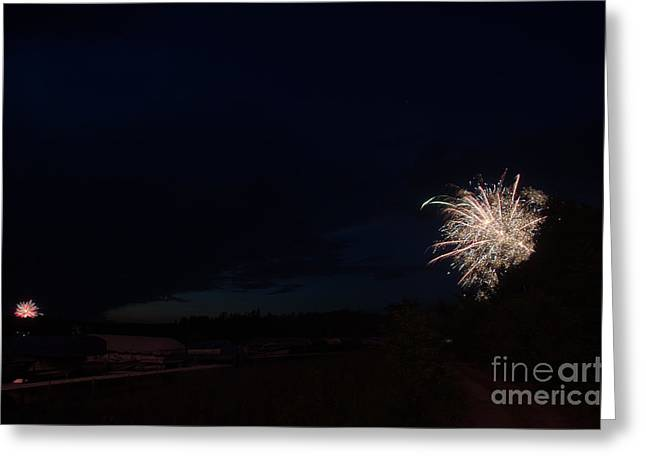 Fireworks 39 Greeting Card by Cassie Marie Photography