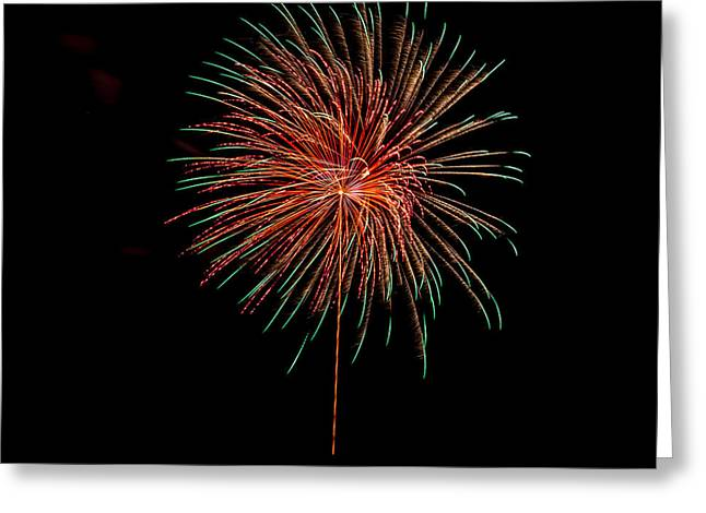 Fireworks 4 Greeting Card