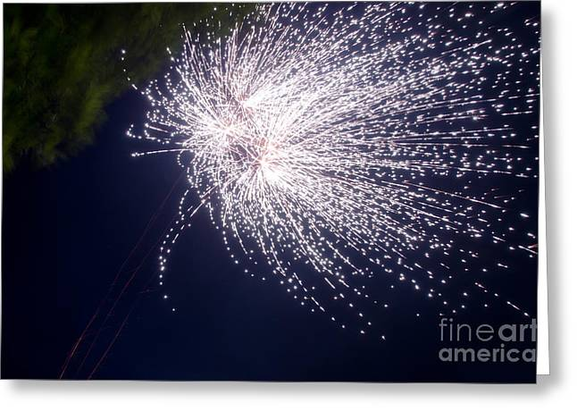 Fireworks 43 Greeting Card by Cassie Marie Photography