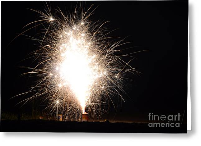 Fireworks 46 Greeting Card by Cassie Marie Photography