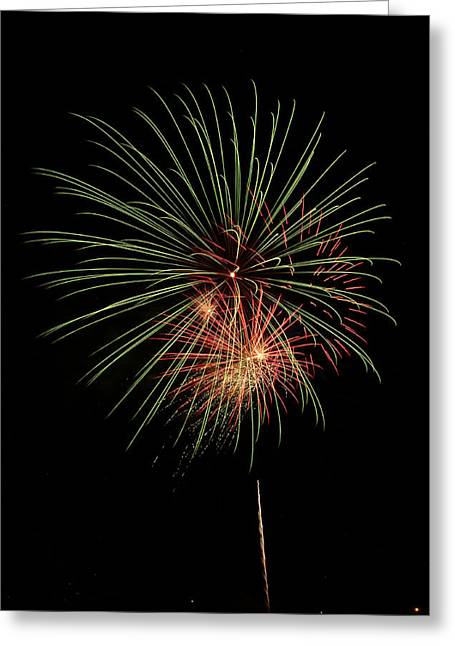 Fireworks 5 Greeting Card