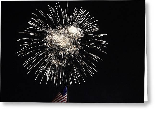 Fireworks 8 Greeting Card