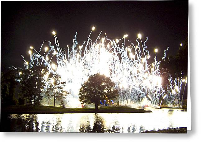 Fireworks At Epcot 2 Greeting Card