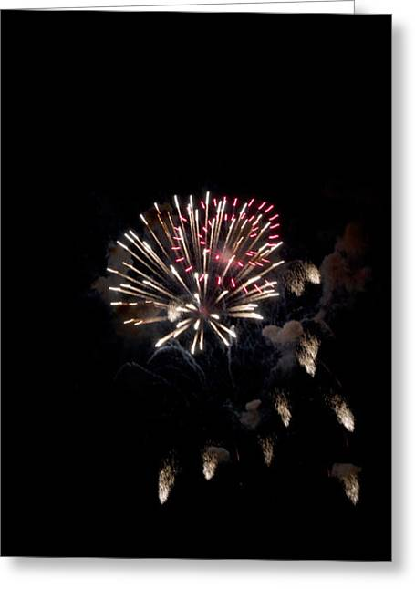 Fireworks At Night Greeting Card