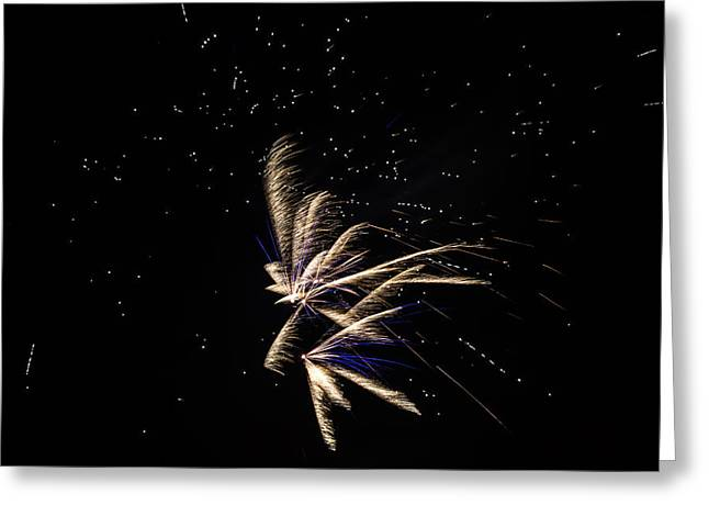 Fireworks - Dragonflies In The Stars Greeting Card
