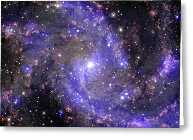 Fireworks Galaxy Greeting Card by Nasa