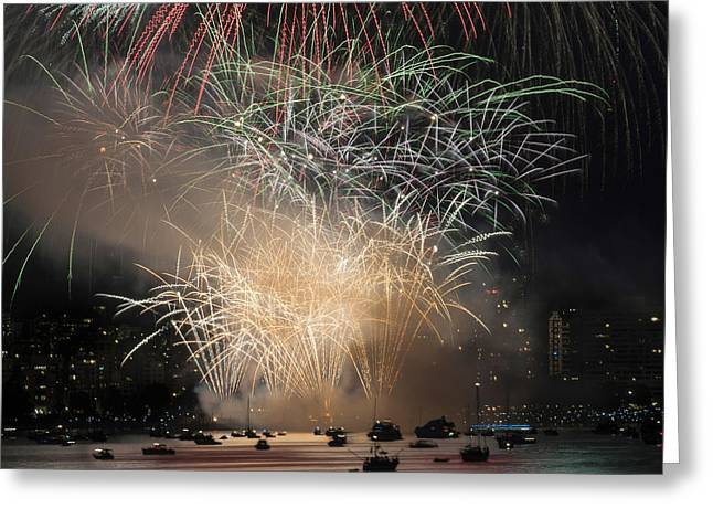 Fireworks In Englishbay 1 Greeting Card