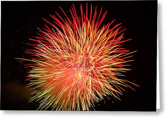 Fireworks  Greeting Card by Michael Porchik