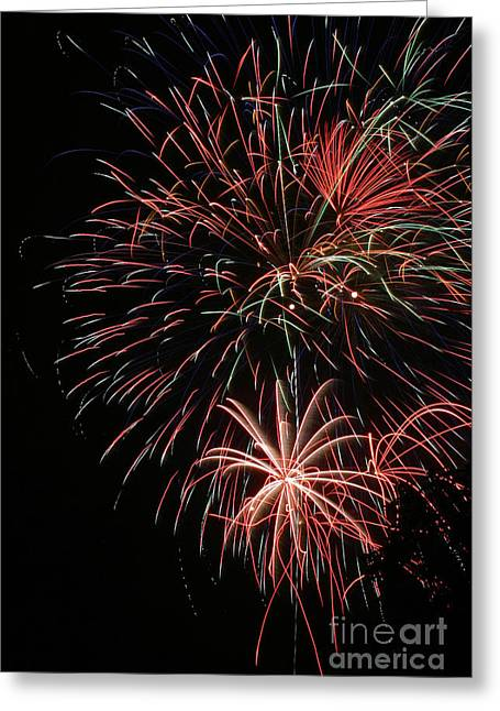 Fireworks6525 Greeting Card by Gary Gingrich Galleries