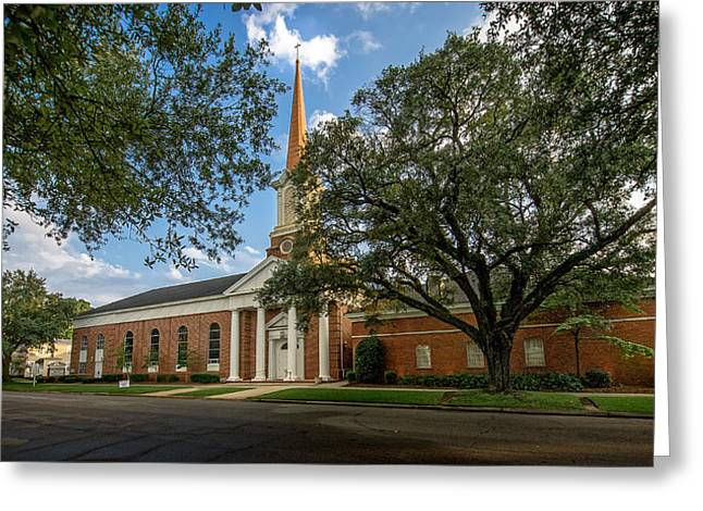First Baptist Of Georgetown II Greeting Card