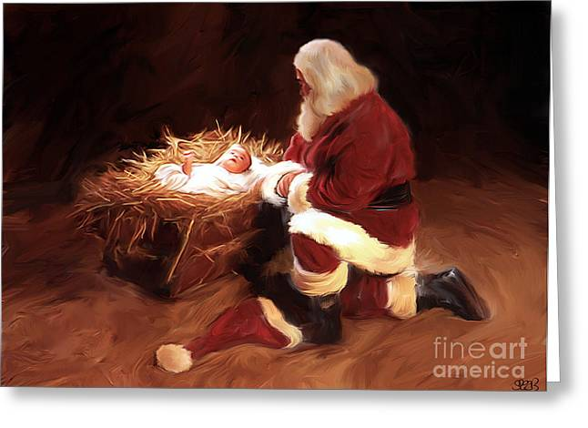 First Christmas Greeting Card by Mark Spears