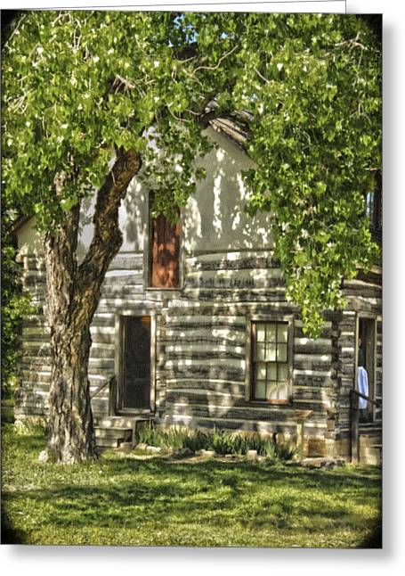 First House In Wichita Greeting Card