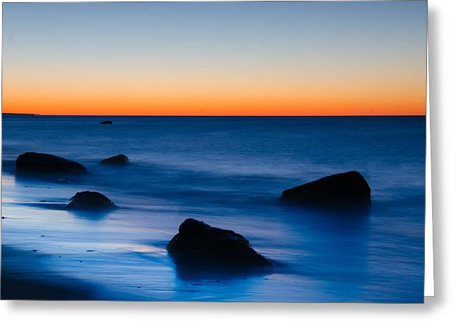 First Light At Lucy Vincent Beach Greeting Card