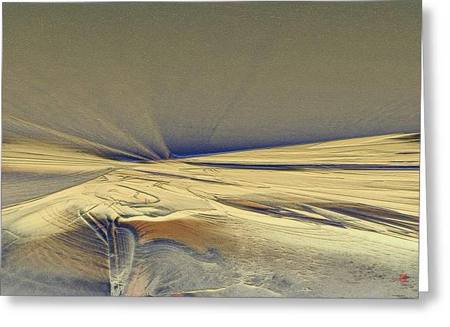 First Mesa Greeting Card by David Jenkins