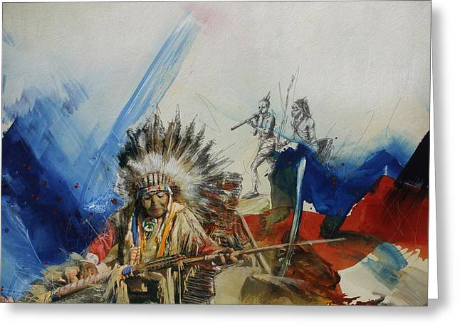 First Nations 30 Greeting Card