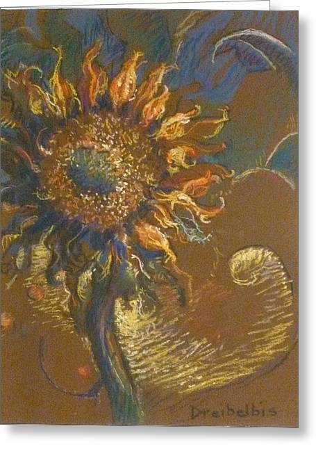 First Sunflower Greeting Card