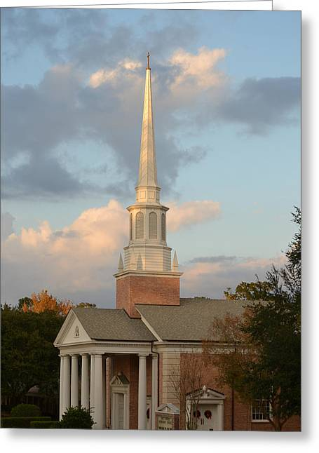 First United Methodist Church Lake City Florida Greeting Card