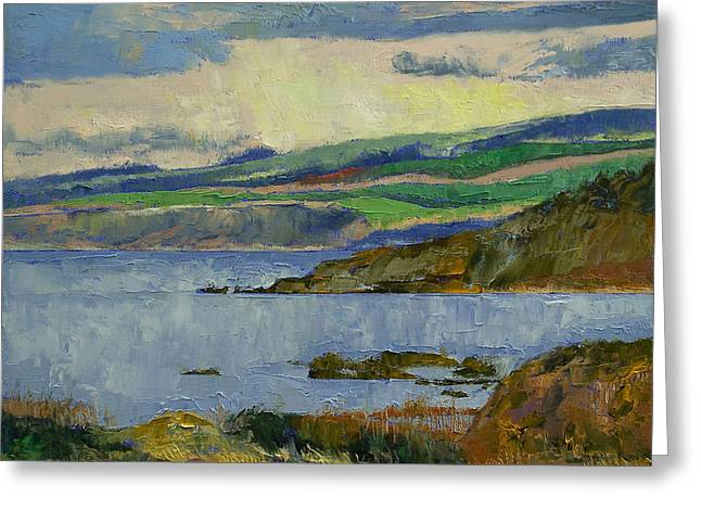 Firth Of Clyde Greeting Card by Michael Creese