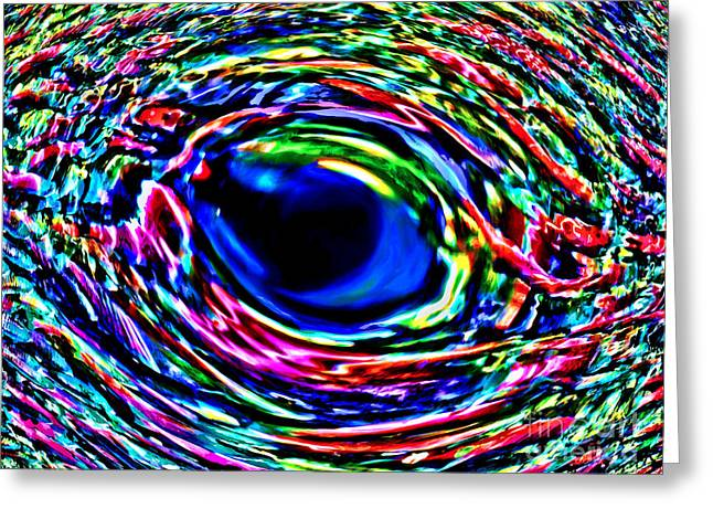 Greeting Card featuring the photograph Fish Eye by David Lawson