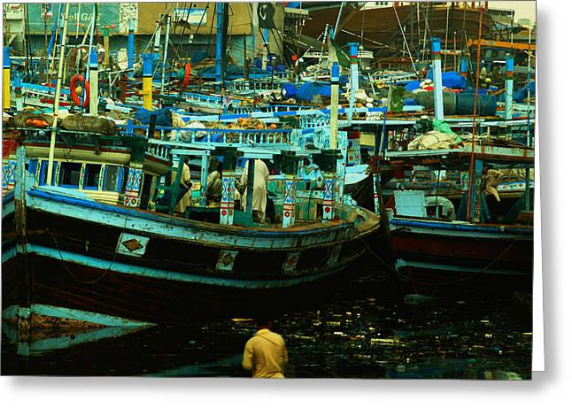 Fish Harbour Cinematic Greeting Card