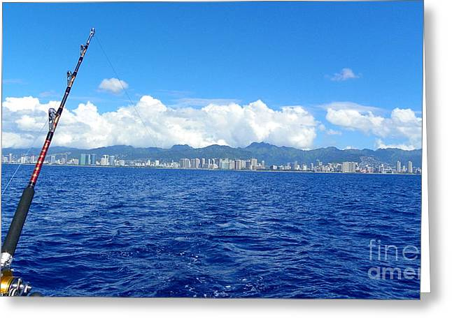 Fish Honolulu  Greeting Card