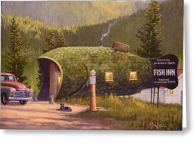 Fish Inn Greeting Card