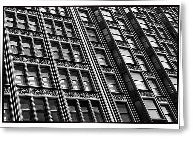 Fisher Building - 07.25.09_081 Greeting Card