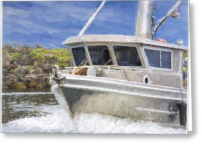 Fisherman's Prayer - West Coast Art Greeting Card