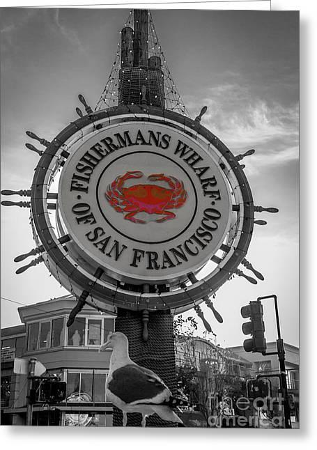 Fishermans Wharf Greeting Card