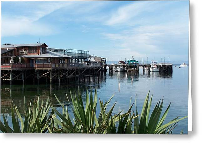 Greeting Card featuring the photograph Fishermans Wharf by Christine Drake