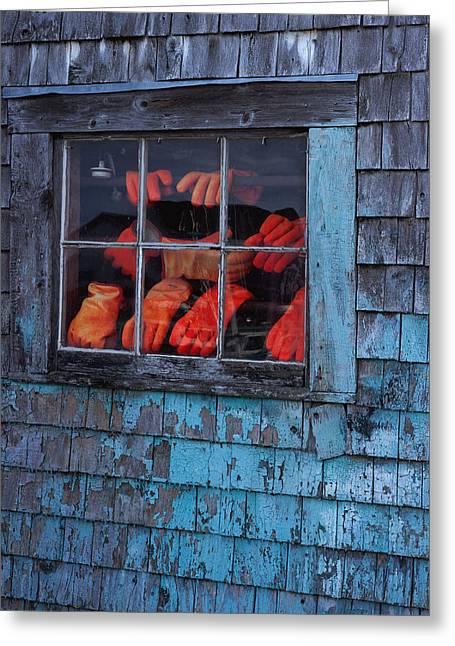 Fishermen's Hands Greeting Card