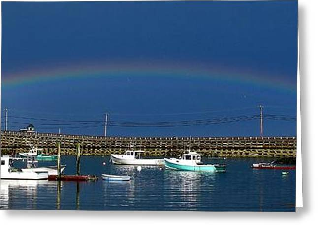 Fishermen's Rainbow Greeting Card