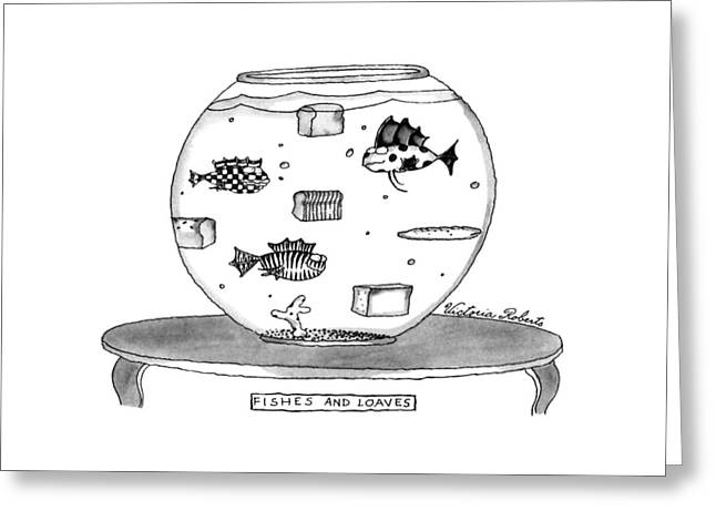 Fishes And Loaves Greeting Card