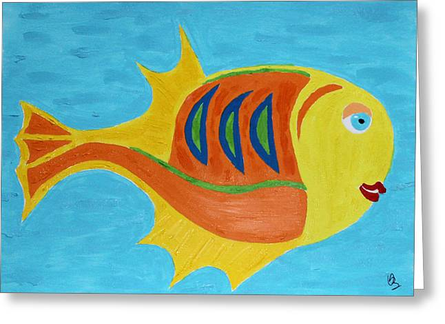 Fishie Greeting Card