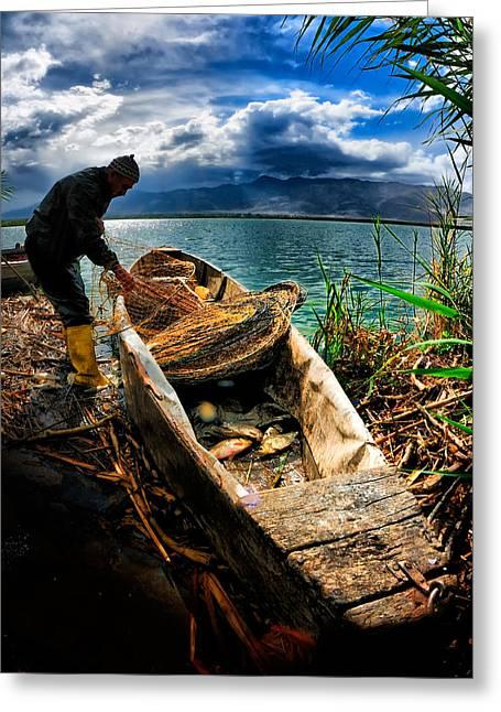 Fishing - 16 Greeting Card