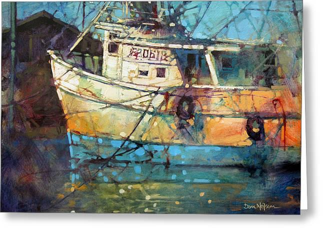 Fishing Colors Greeting Card