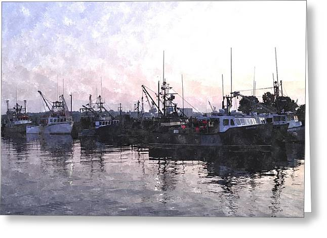 Fishing Fleet Ffwc Greeting Card by Jim Brage