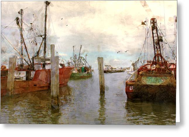 Fishing Fleet Greeting Card