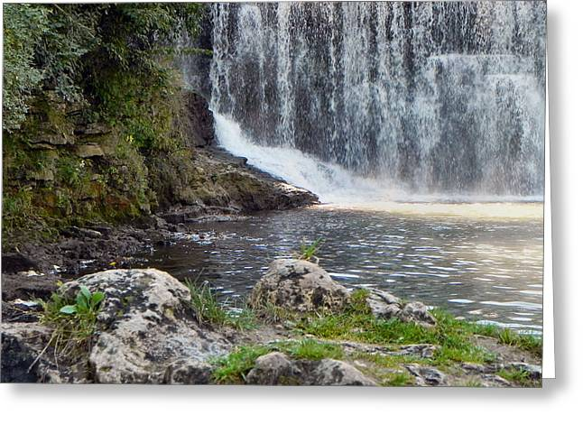 Greeting Card featuring the photograph Fishing Hole by Deb Halloran