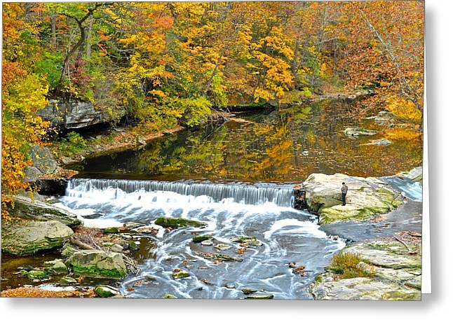Fishing Is Relaxing Greeting Card by Frozen in Time Fine Art Photography
