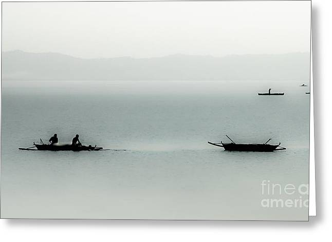 Fishing On The Philippine Sea   Greeting Card