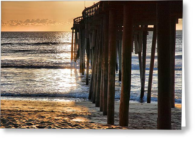 Fishing Pier IIi Greeting Card by Steven Ainsworth