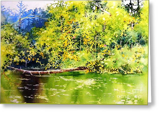 Fishing Pond Greeting Card