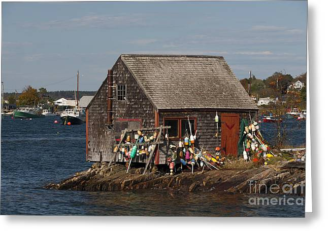 Fishing Shack Greeting Card