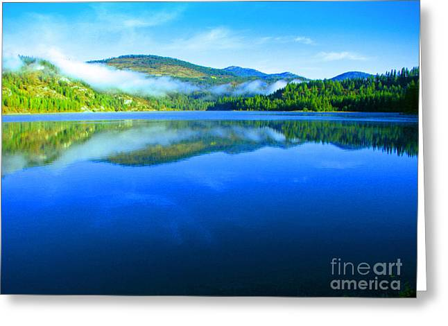 Fishing Spot 5 Greeting Card by Greg Patzer