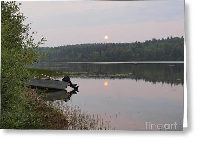 Fishing Tranquility Greeting Card