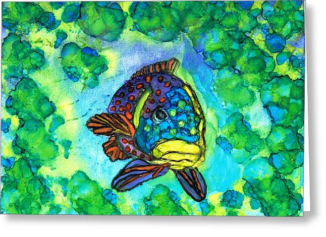 Fishy Greeting Card