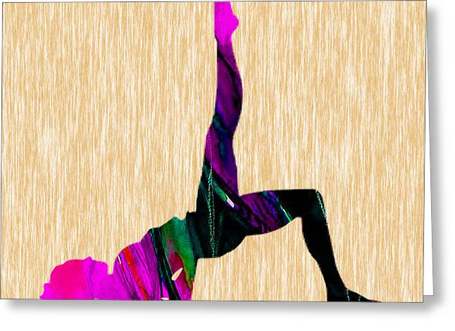 Fitness Inspiration Greeting Card